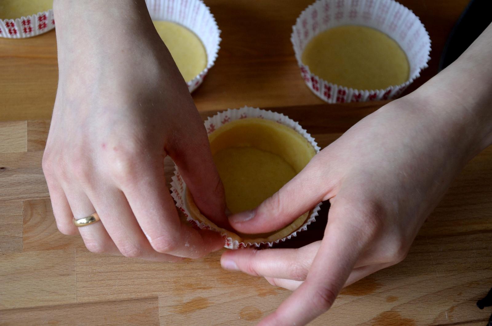 Tarteletki ze śliwkami