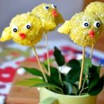 Ciastkowe lizaki kurczaki