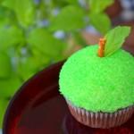 Babeczki zielone jabłuszka