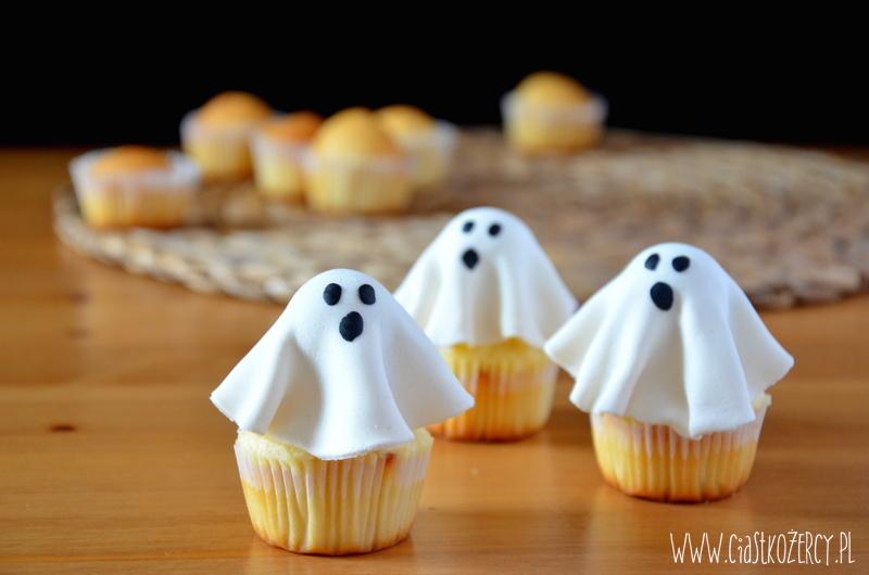 Halloween Babeczki Duszki