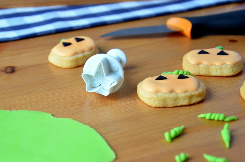 Halloween Ciasteczka dynie