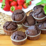 Babeczki mocno czekoladowe