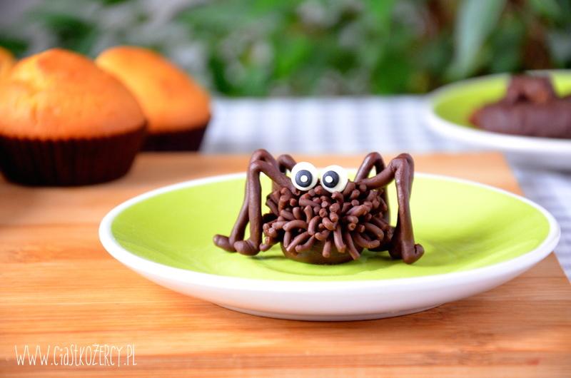 czekoladowe pająki
