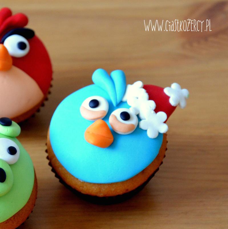 Angry Bird christmas edition blue bird