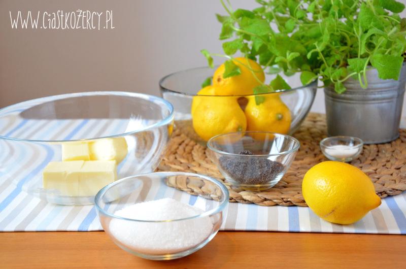 Babeczki cytrynowe z makiem 3