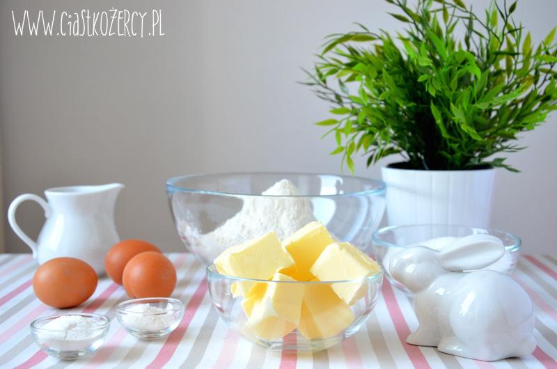 Wielkanocne ciasteczka zajączki 1