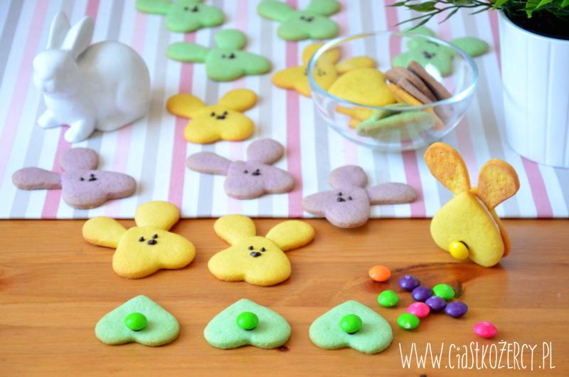 Wielkanocne ciasteczka zajączki 13