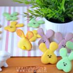 Wielkanocne ciasteczka zajączki