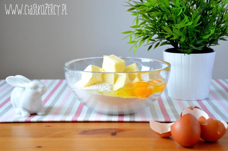 Wielkanocne ciasteczka zajączki 2