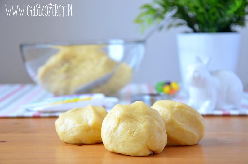 Wielkanocne ciasteczka zajączki 4