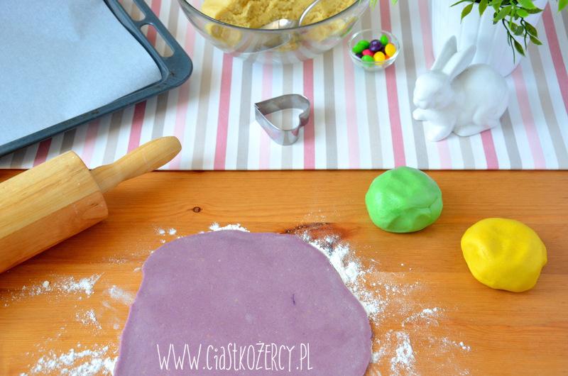 Wielkanocne ciasteczka zajączki 6