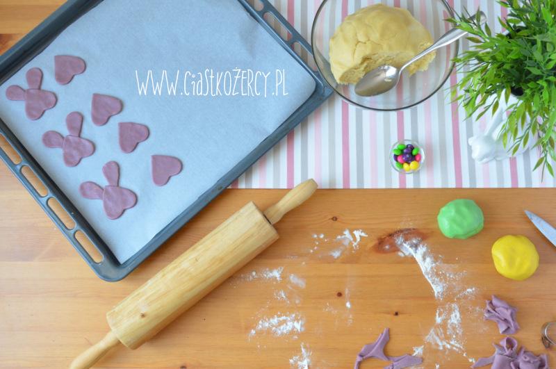 Wielkanocne ciasteczka zajączki 7
