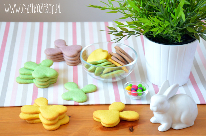 Wielkanocne ciasteczka zajączki 9