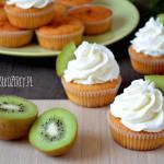 Muffinki kiwi