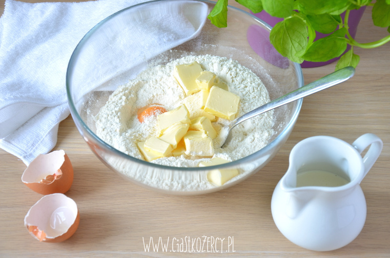 Migdałowa tarta z gruszkami 2
