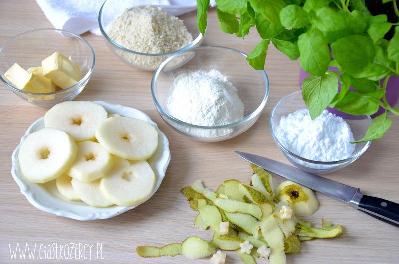 Migdałowa tarta z gruszkami 3