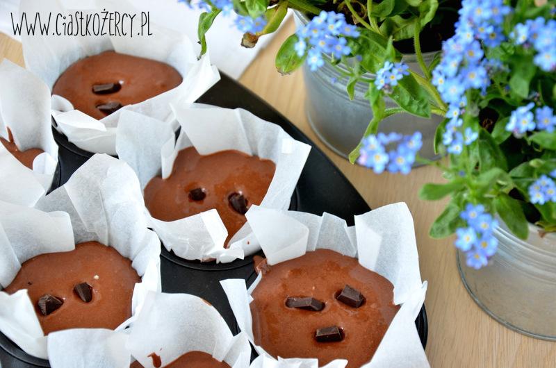 Proste muffiny czekoladowe