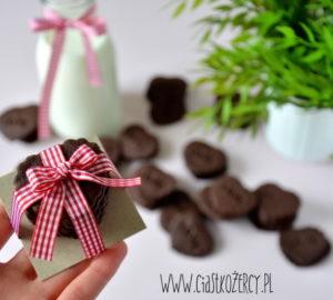 Kruche ciasteczka czekoladowe