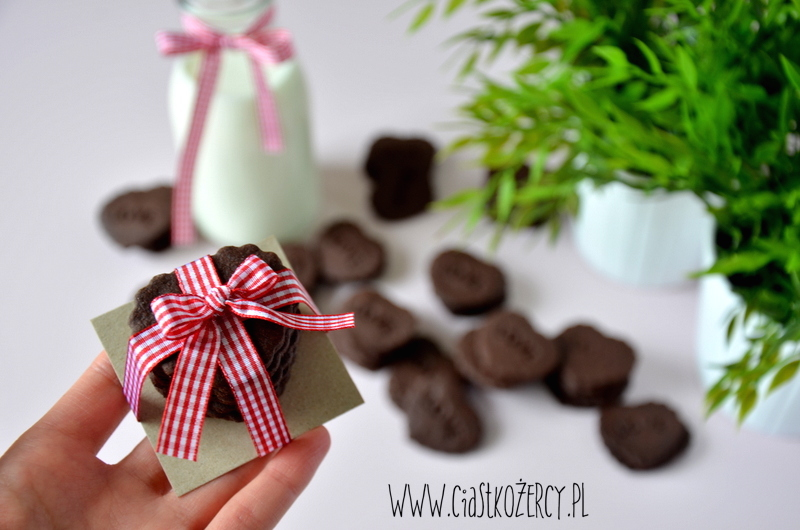 Proste ciasteczka czekoladowe