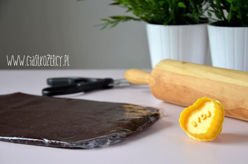 Kruche ciasteczka czekoladowe 4