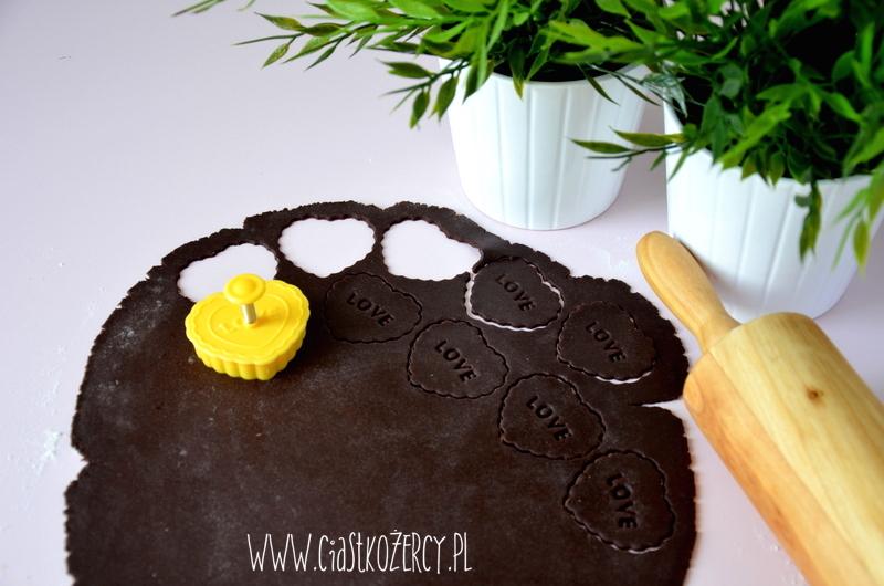 Kruche ciasteczka czekoladowe 6