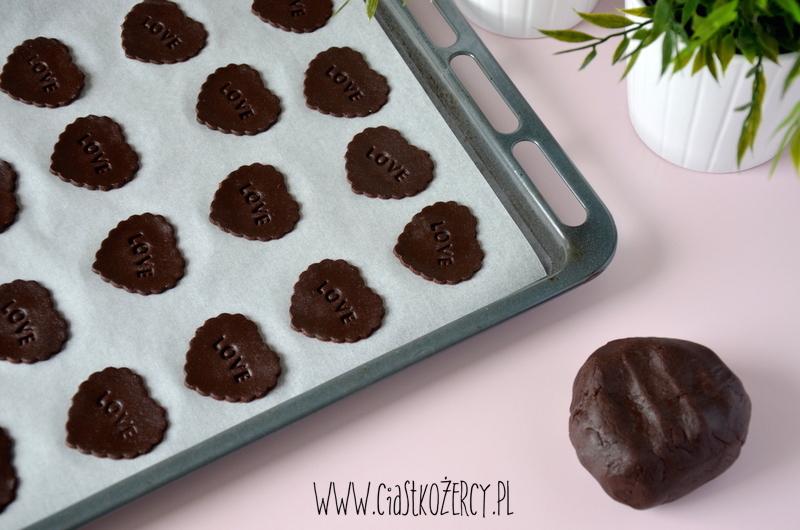 Kruche ciasteczka czekoladowe 7