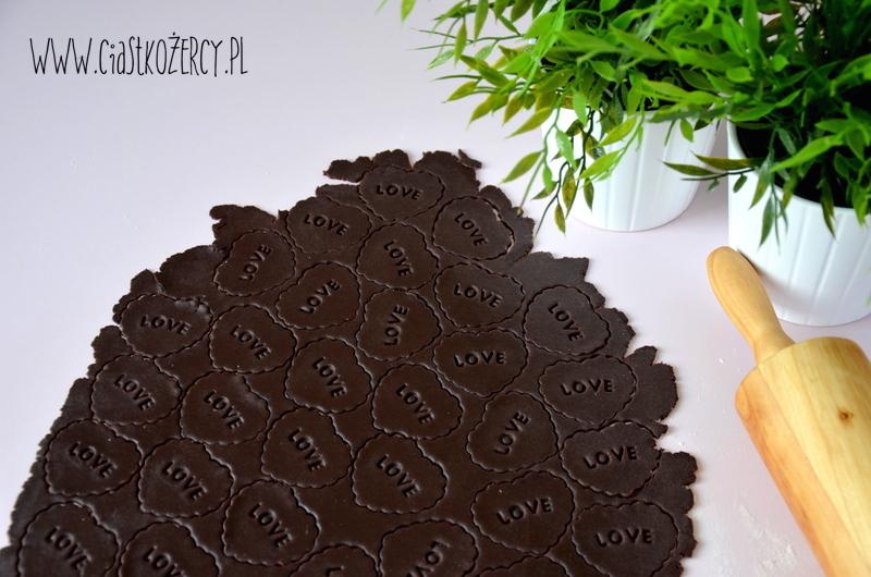 Kruche ciasteczka czekoladowe 8