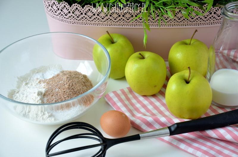 Jabłka w cieście 2