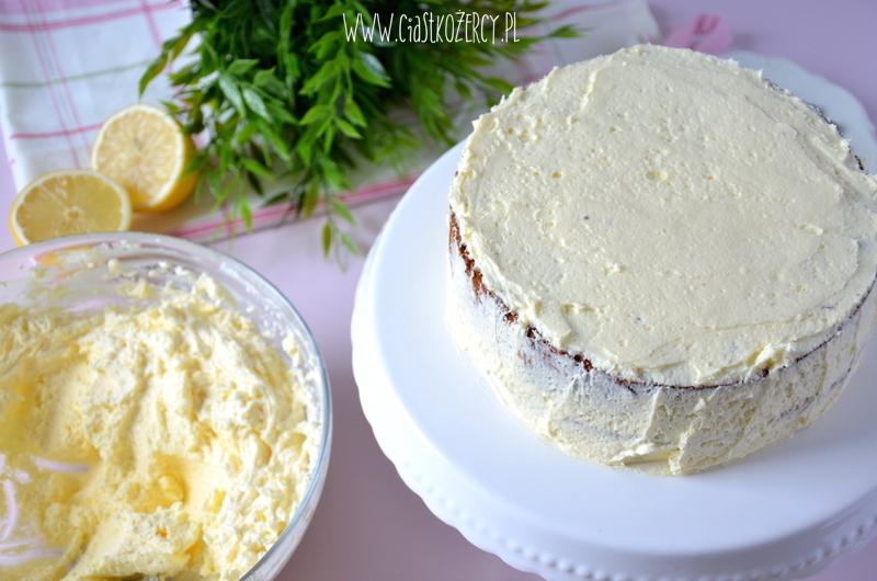 Tort cytrynowo-jagodowy 11