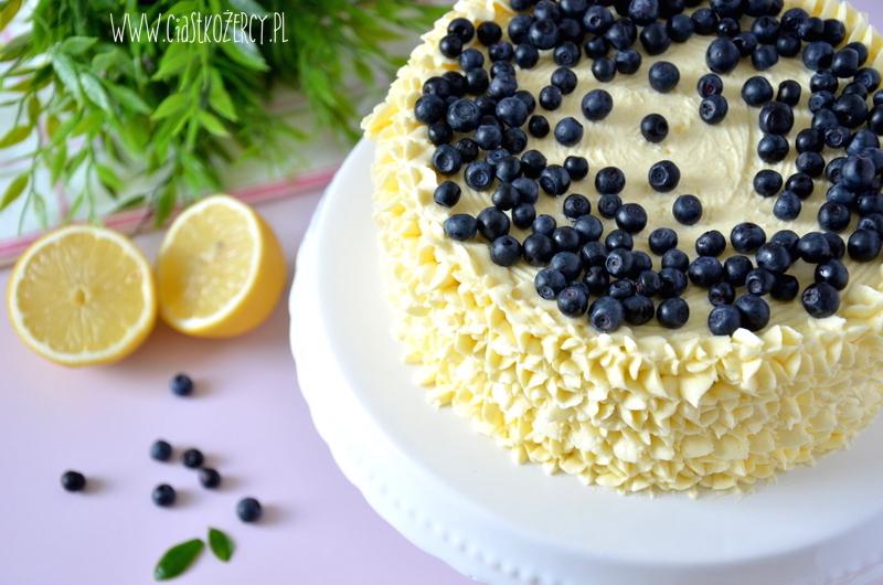 Tort cytrynowo-jagodowy 14