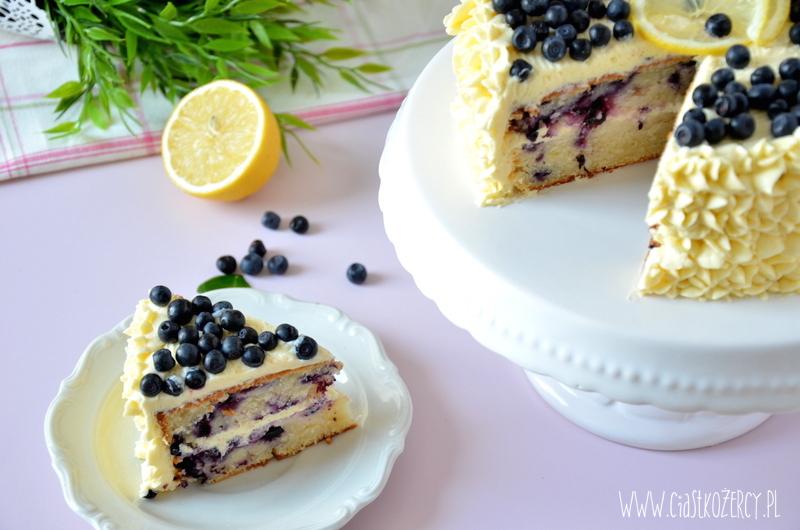 Tort cytrynowo-jagodowy 19