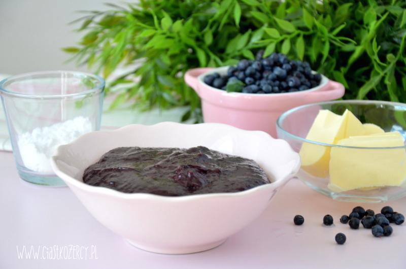 Proste muffinki jagodowe 8