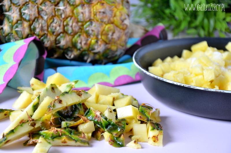 Tarta ananasowa 11