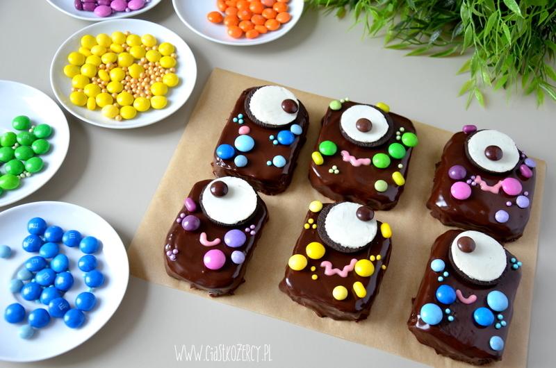 Halloween Potworki Brownie