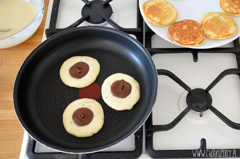 Pancake'i z Nutellą 6