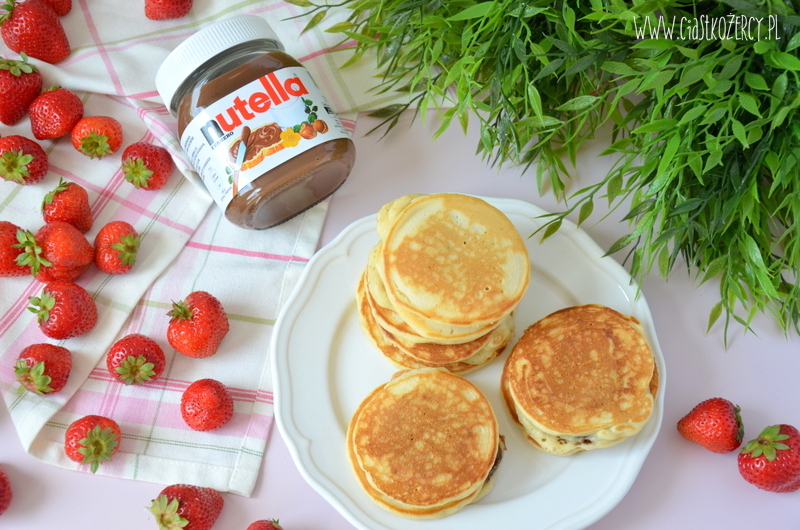 Pancake'i z Nutellą 7