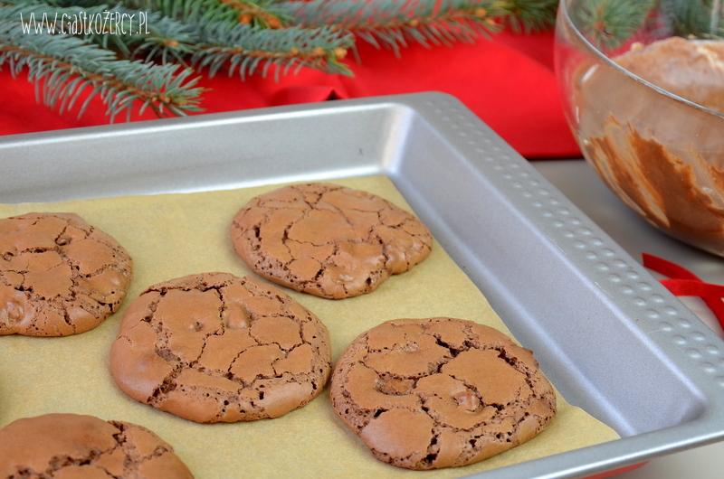 czekoladowe ciasteczka brownie