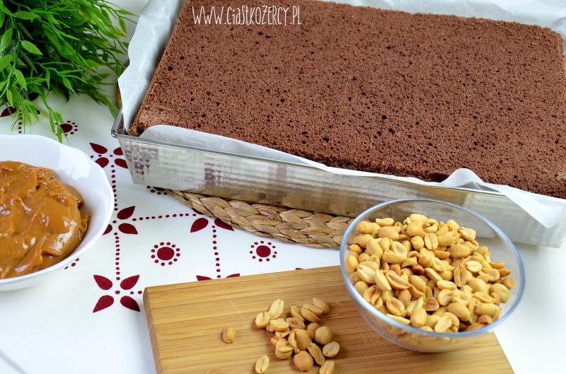 Ciasto snickers 8