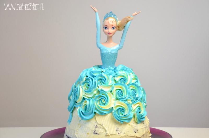 Tort Elsa z Krainy Lodu