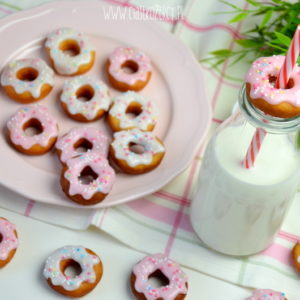 mini donuty