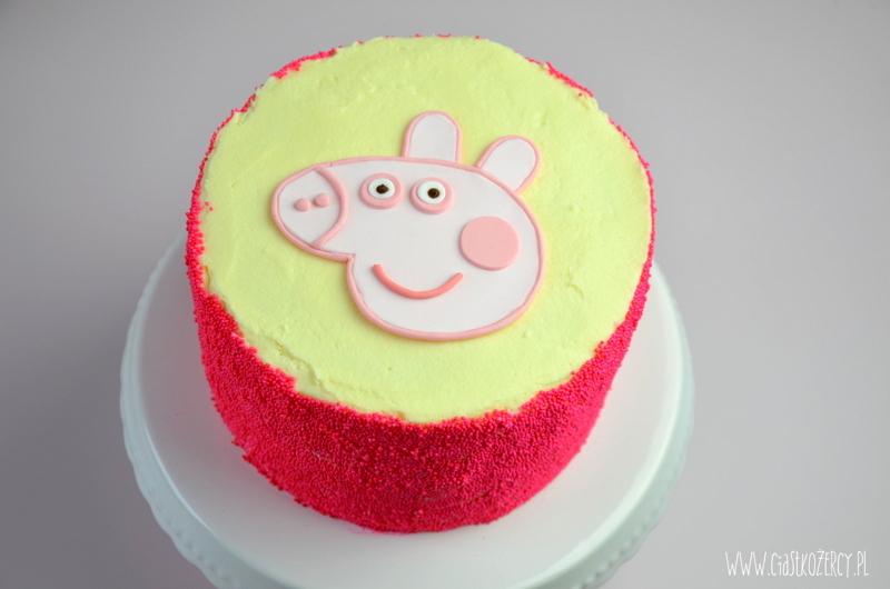 Tort świnka peppa 12
