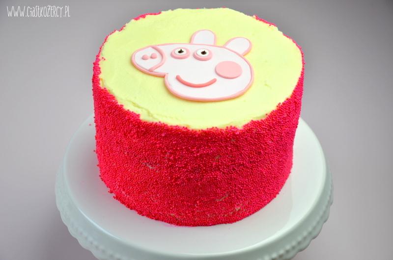 Tort urodzinowy Świnka Peppa 1