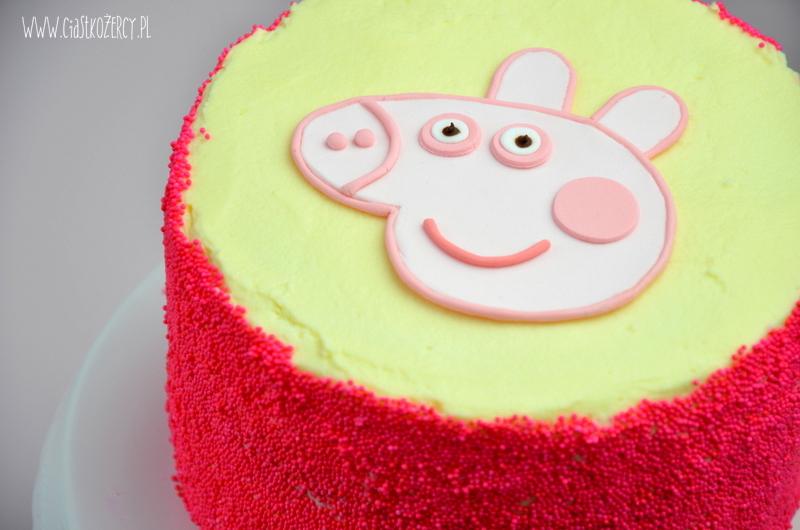 Tort urodzinowy Świnka Peppa