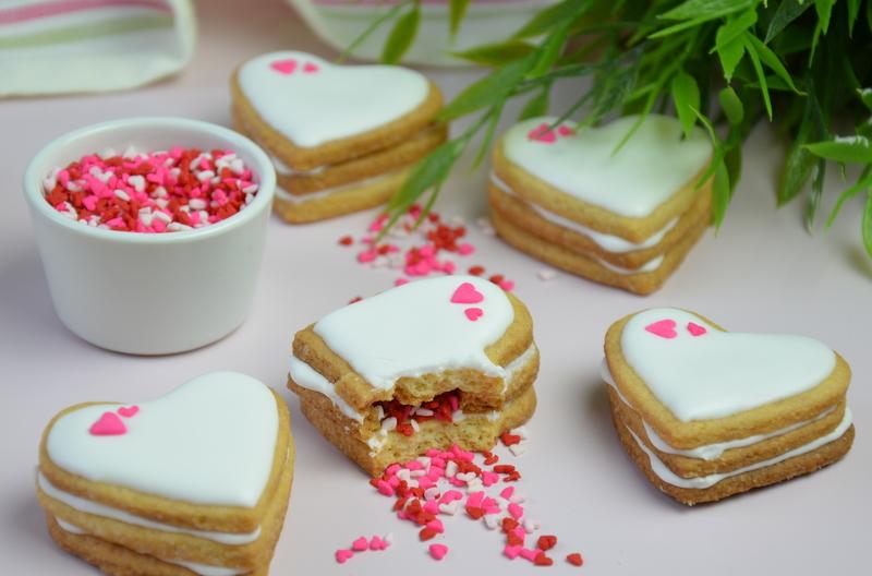 Walentynkowe ciasteczka pinata 15