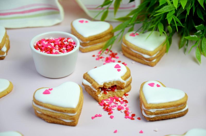 Walentynkowe ciasteczka pinata 17