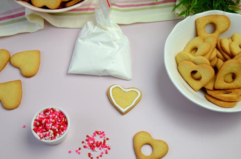 Walentynkowe ciasteczka pinata 9