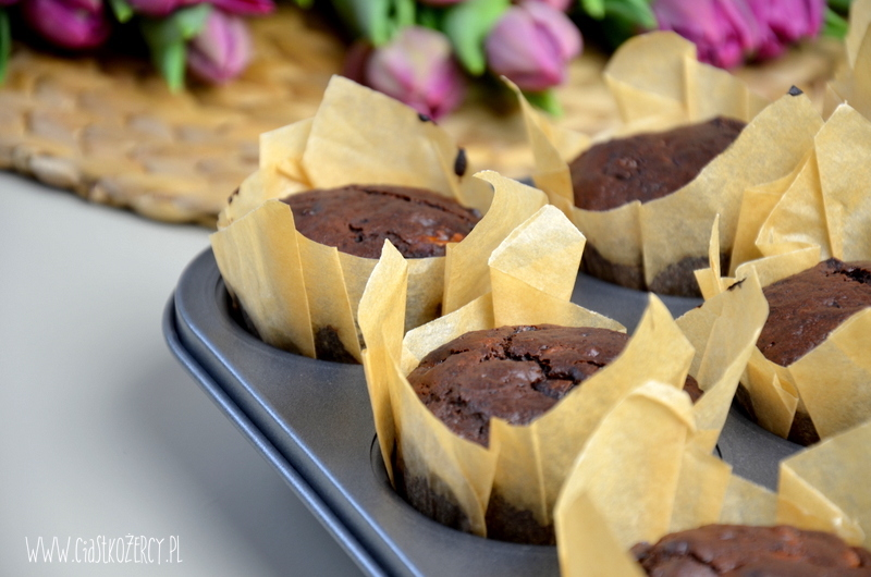 Muffinki bananowo czekoladowe 8