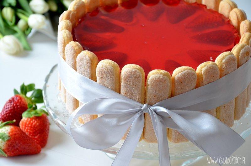 Ciasto z galaretką 1