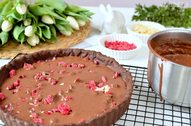 czekoladowy mazurek z chili