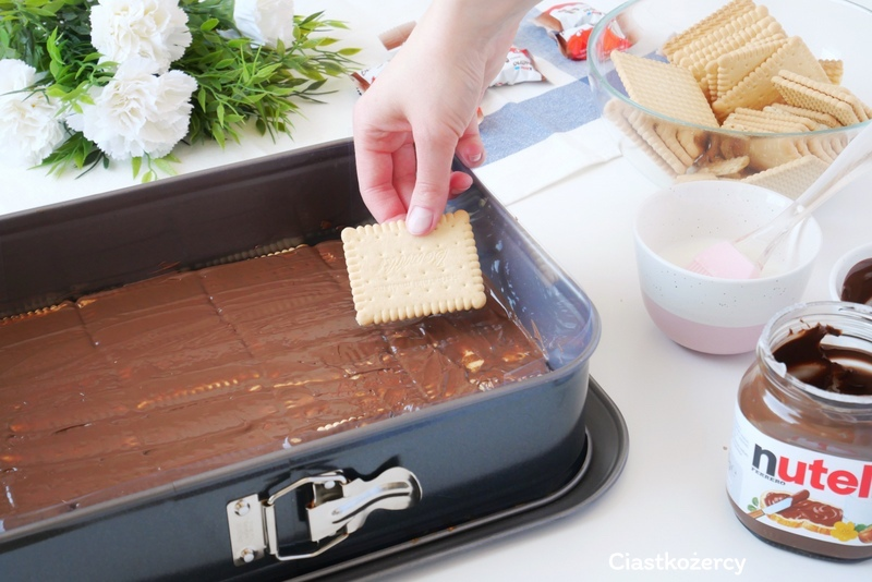Ciasto Kinder bez pieczenia